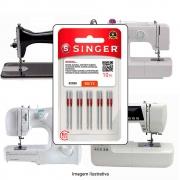 Agulha Singer Para Máquina de Costura Domestica 2020 130/705 ou HAX1 Universal