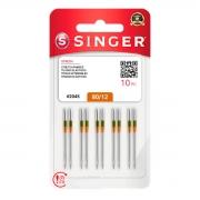 Agulha Singer Para Máquina de Costura Domestica 2045 130/705 Kit com 2 PCT 80/12 e 2 PCT 90/14