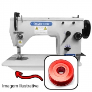 Carretilha Bobina Alumínio Para Máquina Zig Zag 20 U e Bordado  Embroidery