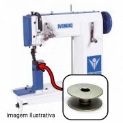 Carretilha Bobina De Alumínio Para Máquina de Costura Lançadeira Grande Ivomaq CI 2100 Ou CI 3000