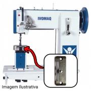 Chapa 2,4 Para Máquina De Costura 2 Agulhas Para Ivomaq CI 2100 E CI 3000