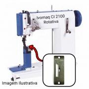 Chapa Para Máquina De Costura 1 Agulha Ivomaq Rotativa CI 2100 E CI 3000
