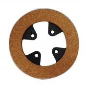 Disco de Cortiça 5mm 4 Furos na Lata e na Cortiça