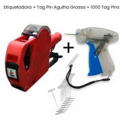 Etiquetadora Manual Rotuladora MX 5500 + Pistola Tag Pin