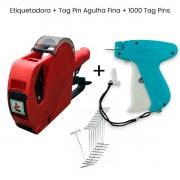 Etiquetadora Manual Rotuladora MX 5500 + Pistola Tag Pin Agulha Fina