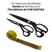 Kit Tesouras de Alfaiate Tamanho 8 e 12 pol