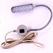 Luminária Led com Haste Flexível Para Máquina Costura