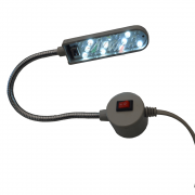 Luminária Led (Neon) com Haste Flexível Para Máquina Costura
