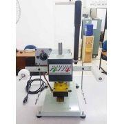 Carimbadeira Hot Stamping manual como fita e controlador de temperatura