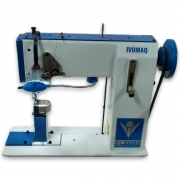Máquina de Costura de Coluna IVOMAQ CI 3000  1DI 1 Agulha Transporte Duplo com Motor Eletrônico