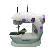 Mini Máquina De Costura Portátil Elétrica Bivolt Lm 202