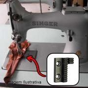Serrilha 2 Carreiras Para Máquina Singer 132 K6 K10 K12  S S123 2 C