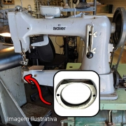 Tampa Grossa Do Bloco Da Lançadeira Para Máquina De Selaria GA 5 GA5-1, Adler 104 105 Singer 45 K