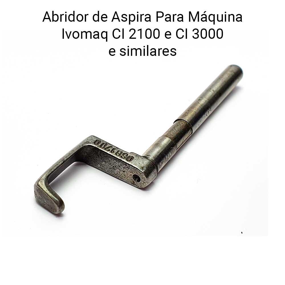Abridor De Espiral Ivomaq CI 2100 e CI 300 Para Lançadeira Pequena  - Pavvia Agulhas e Peças