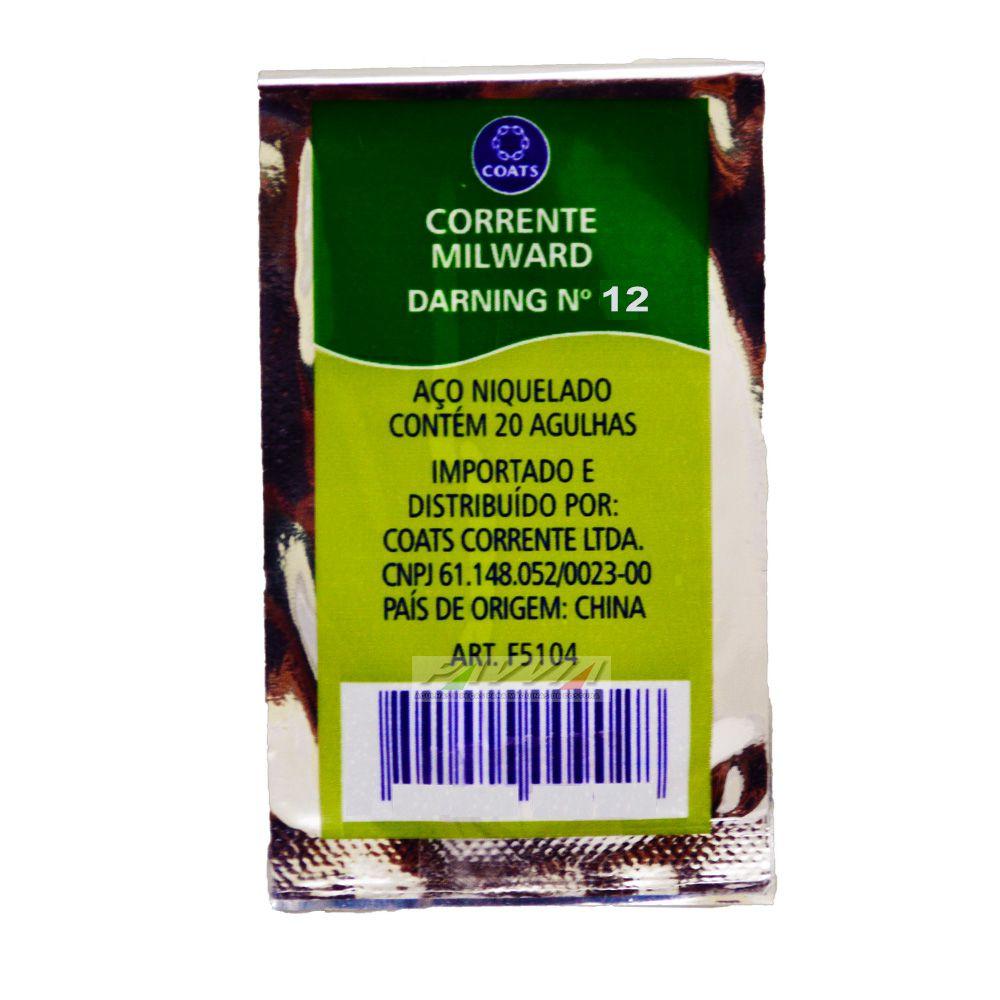 Agulha Manual Corrente Milwar Darning .12 Pacote com 20 Unidades  - Pavvia Agulhas e Peças