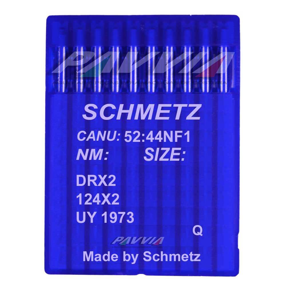 Agulha Schmetz para Máquina de Costura de Sacaria DRX2 124X2 UY 1973   - Pavvia Agulhas e Peças