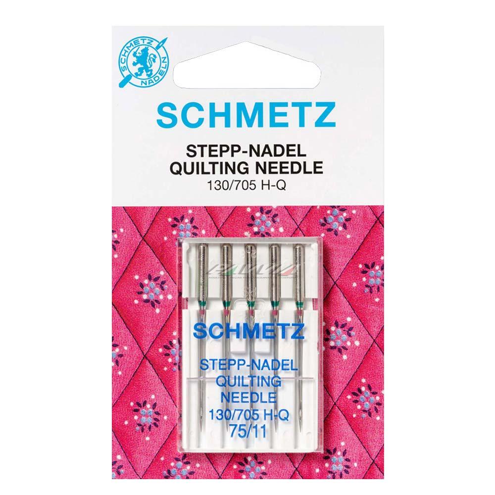 Agulha para Máquina de Costura Domestica  130/705 H-Q Quilting e Patchwork Schmetz  - Pavvia Agulhas e Peças