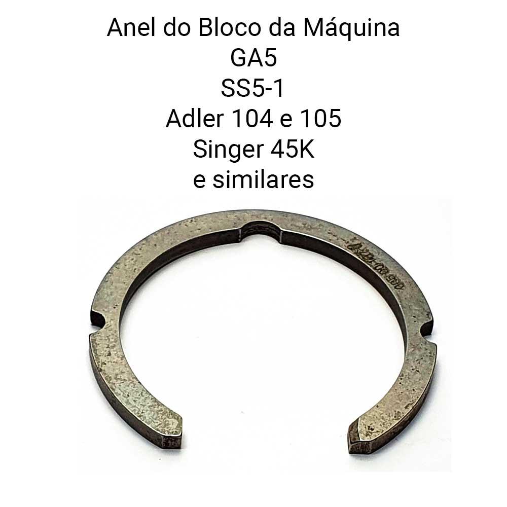 Anel Do Bloco Da Lançadeira Para Máquina De Selaria GA 5 GA5-1, Adler 104 105 Singer 45 K  - Pavvia Agulhas e Peças