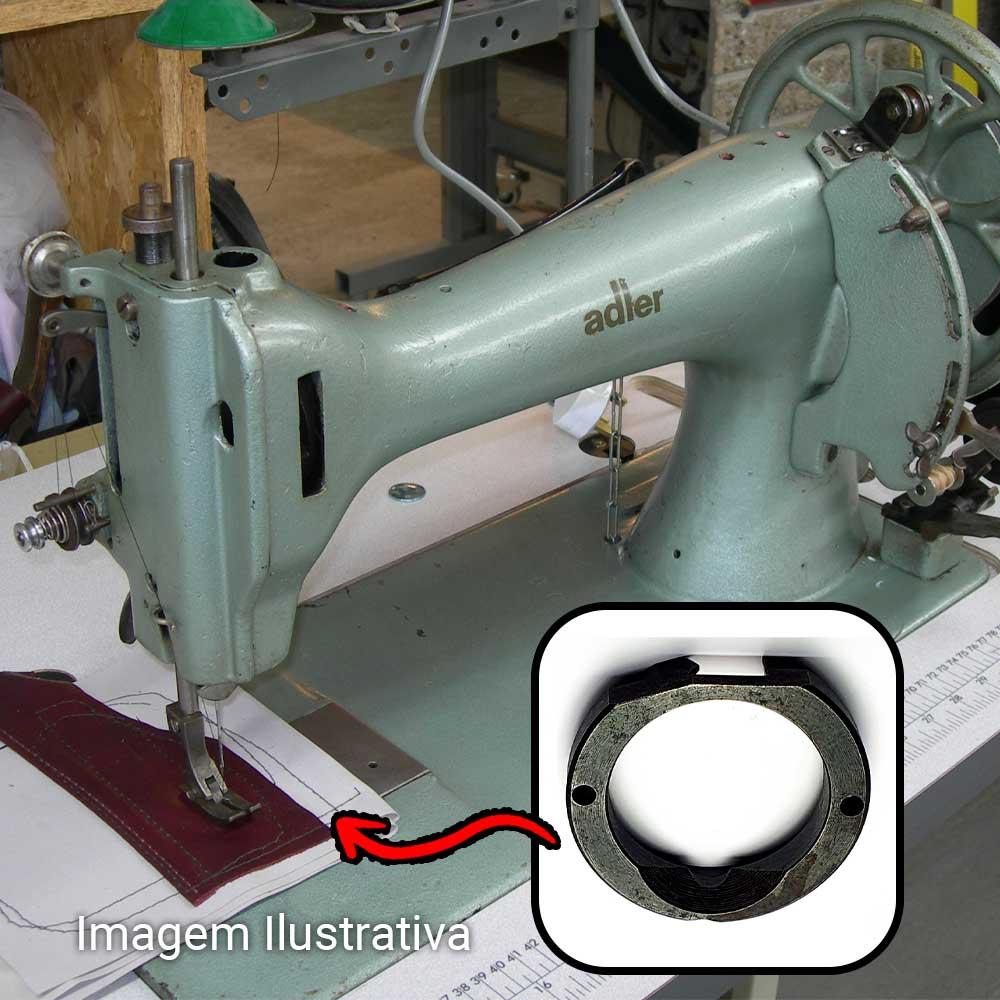 Bloco Com Aro Sistema Antigo Da Lançadeira Para Máquina De Selaria Adler 104 105 Singer 45 K  - Pavvia Agulhas e Peças