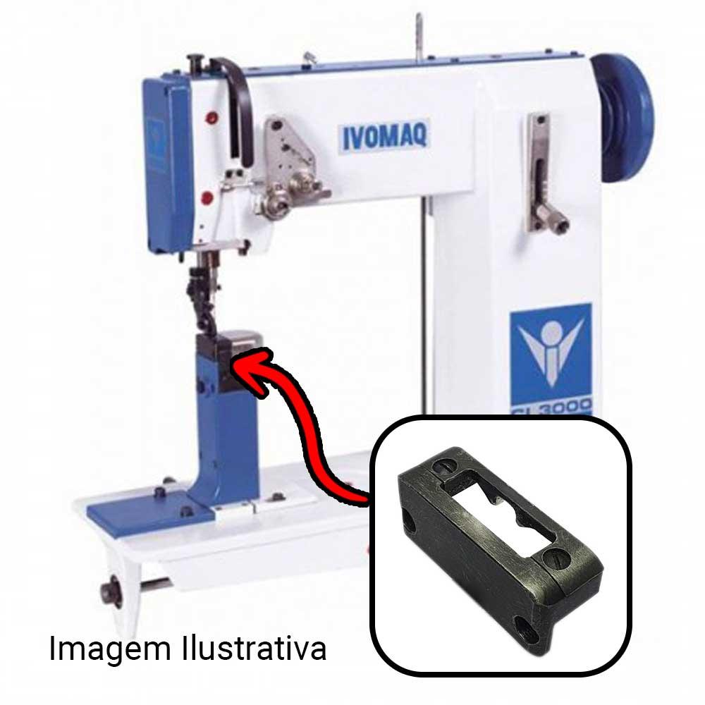 Chapa Para Máquina De Costura 1 Agulha Para Máquina IVOMAQ CI 2100 E CI 3000 4 DI  - Pavvia Agulhas e Peças