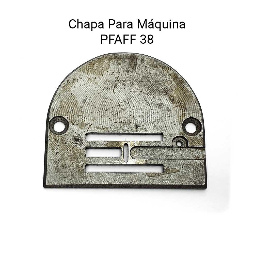 Chapa Para Máquina de Costura PFAFF 38  - Pavvia Agulhas e Peças