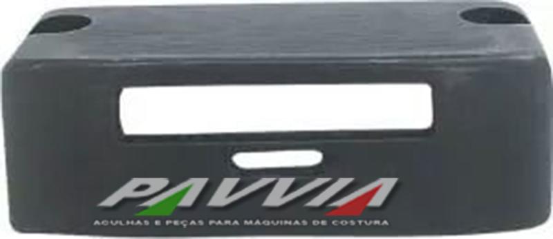 Chapa ponto para maquina de costura  1 agulha para máquina IVOMAQ CI 2100 E CI 3000  - Pavvia Agulhas e Peças