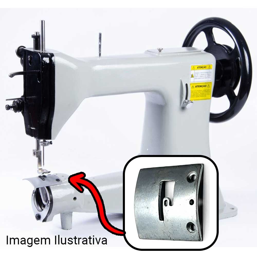 Chapa Ponto Para Máquina De Costura De Selaria GA5 GA 5 SS5 105 45 K  - Pavvia Agulhas e Peças