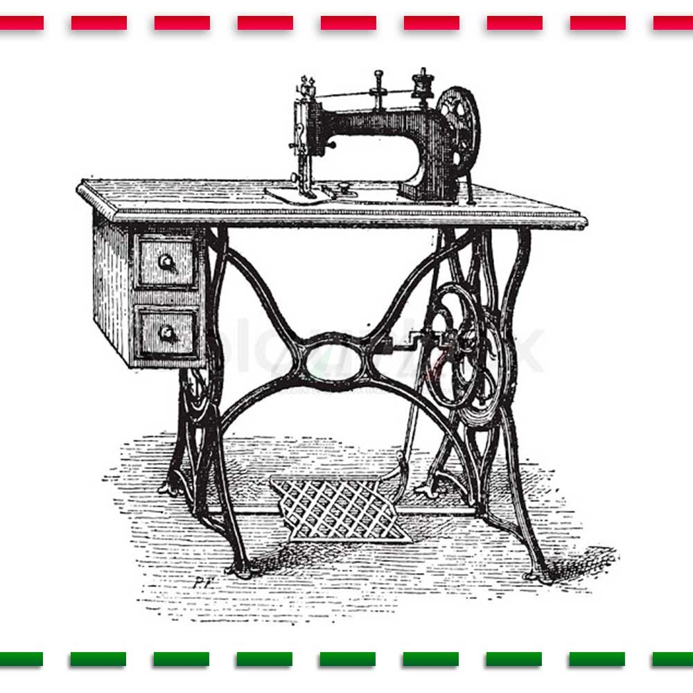 Correia De Couro Para Máquina De Costura Domestica  - Pavvia Agulhas e Peças