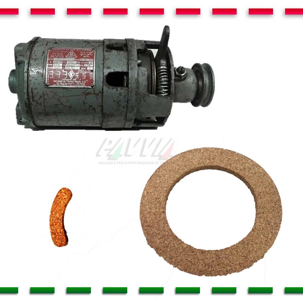 Disco de Cortiça para Motor BRASIL de Màquina de Costura  - Pavvia Agulhas e Peças