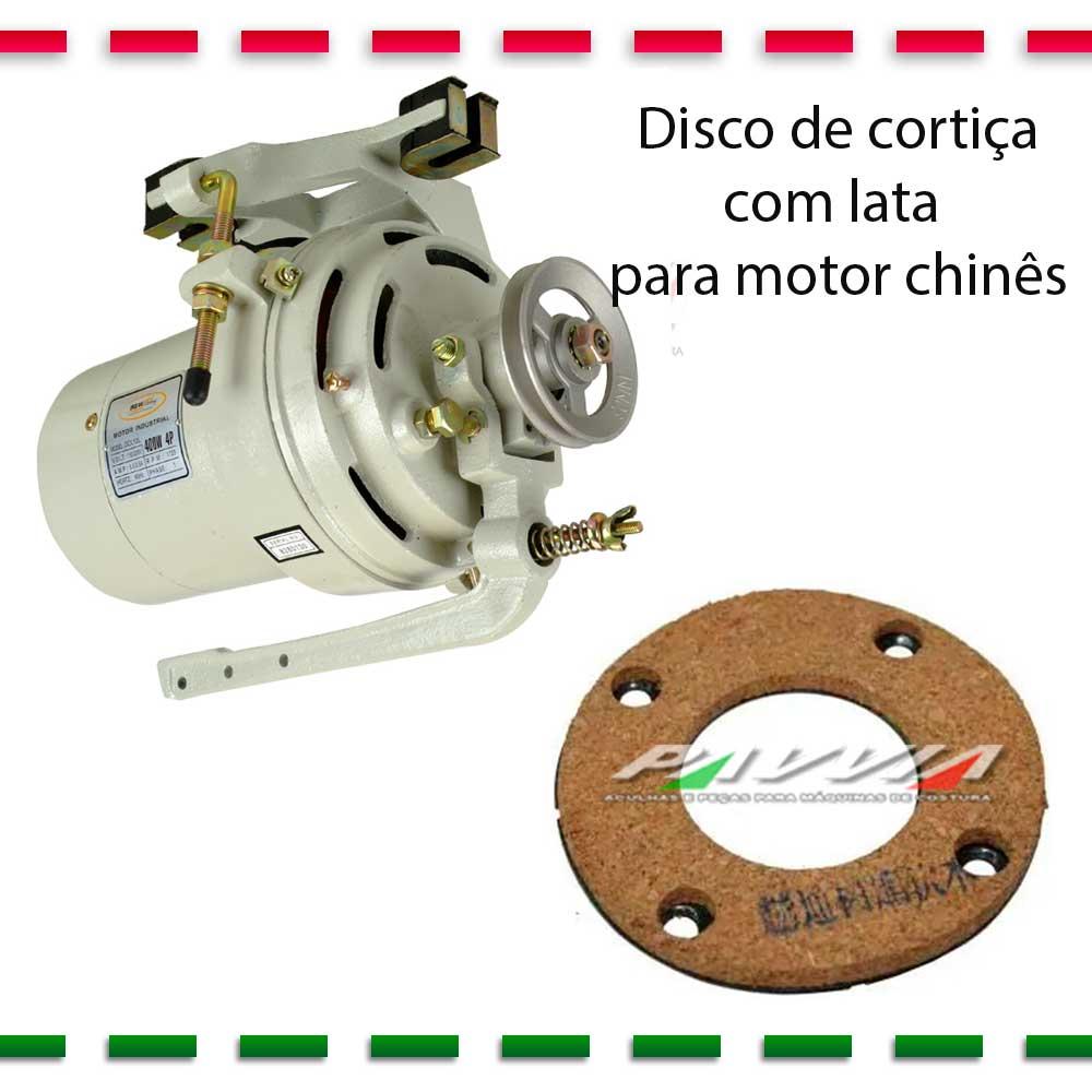 Disco de Cortiça para Motor de Máquina de Costura para Motor Chines com Lata   - Pavvia Agulhas e Peças