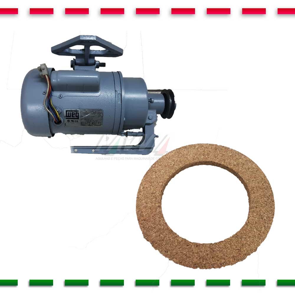 Disco de Cortiça para Motor WEG de Màquina de Costura   - Pavvia Agulhas e Peças