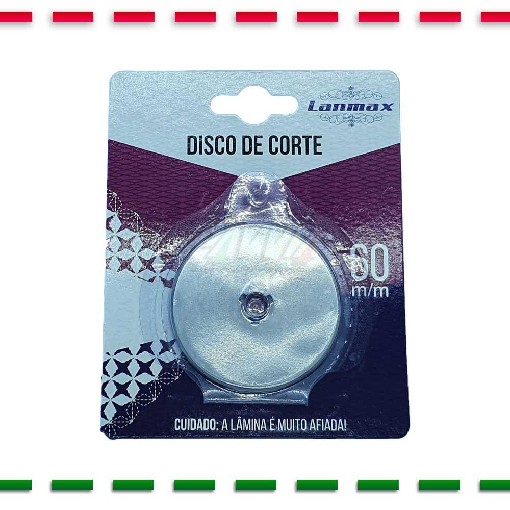 Disco Lâmina Do Cortador Circular Patchwork 60mm  - Pavvia Agulhas e Peças