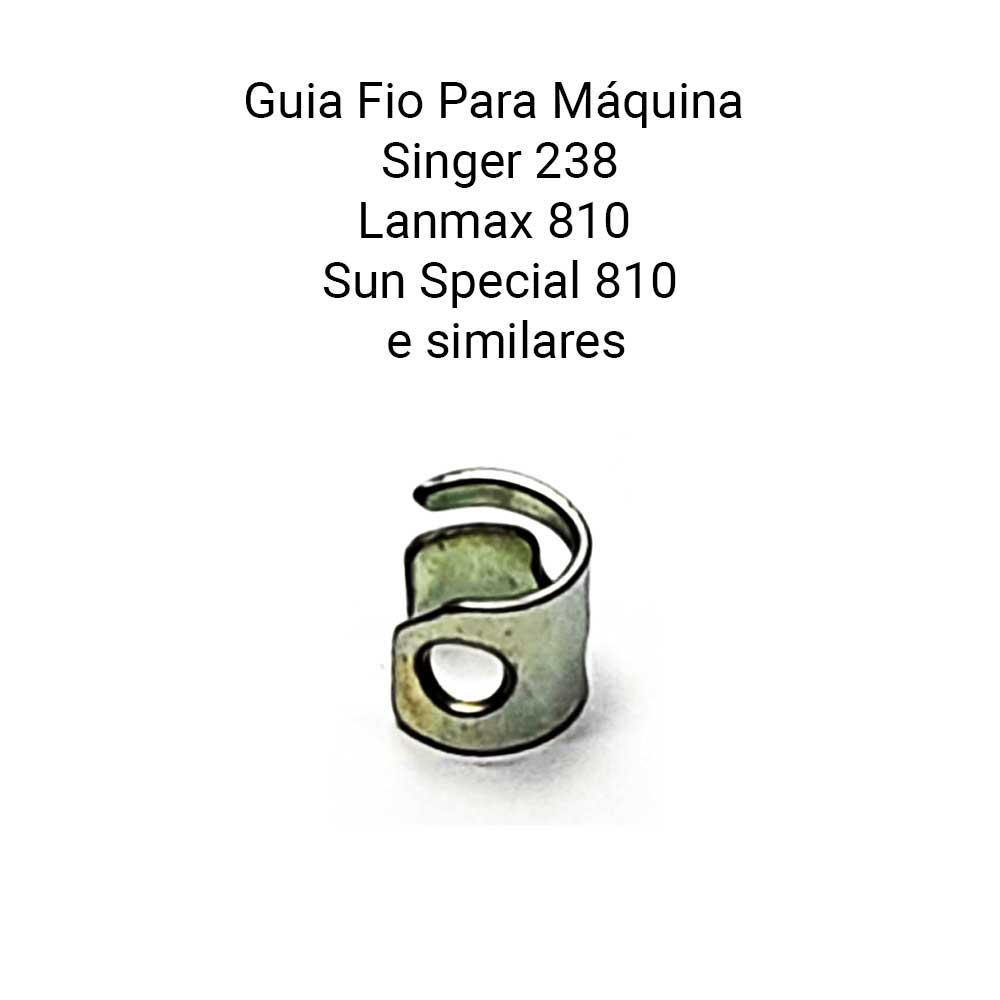 Guia Fio Para Maquina Transporte Simples Singer 238 LM 810 SS 810  - Pavvia Agulhas e Peças