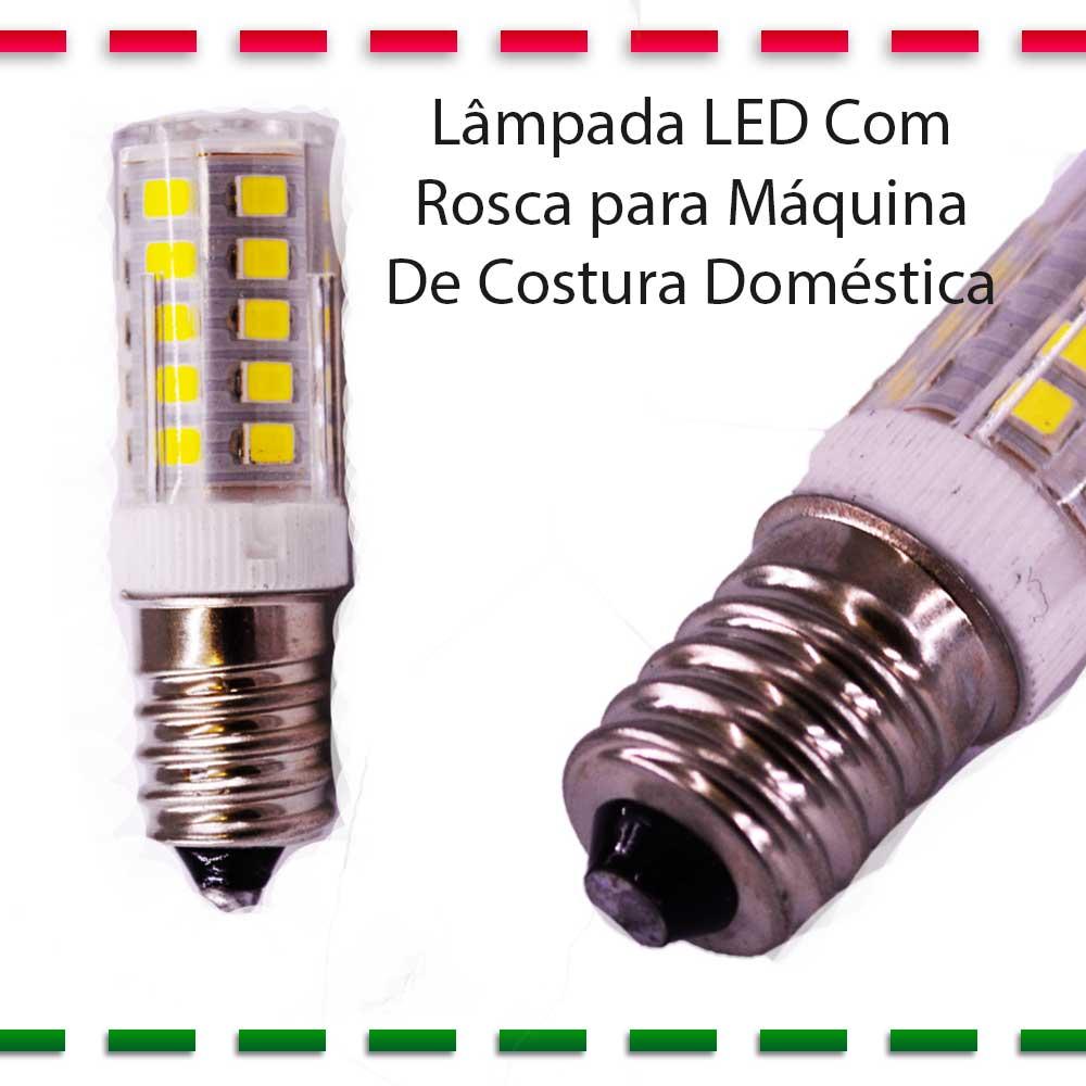 Lâmpada LED De Rosca Grossa E 14 Para Máquina De Costura Doméstica  - Pavvia Agulhas e Peças