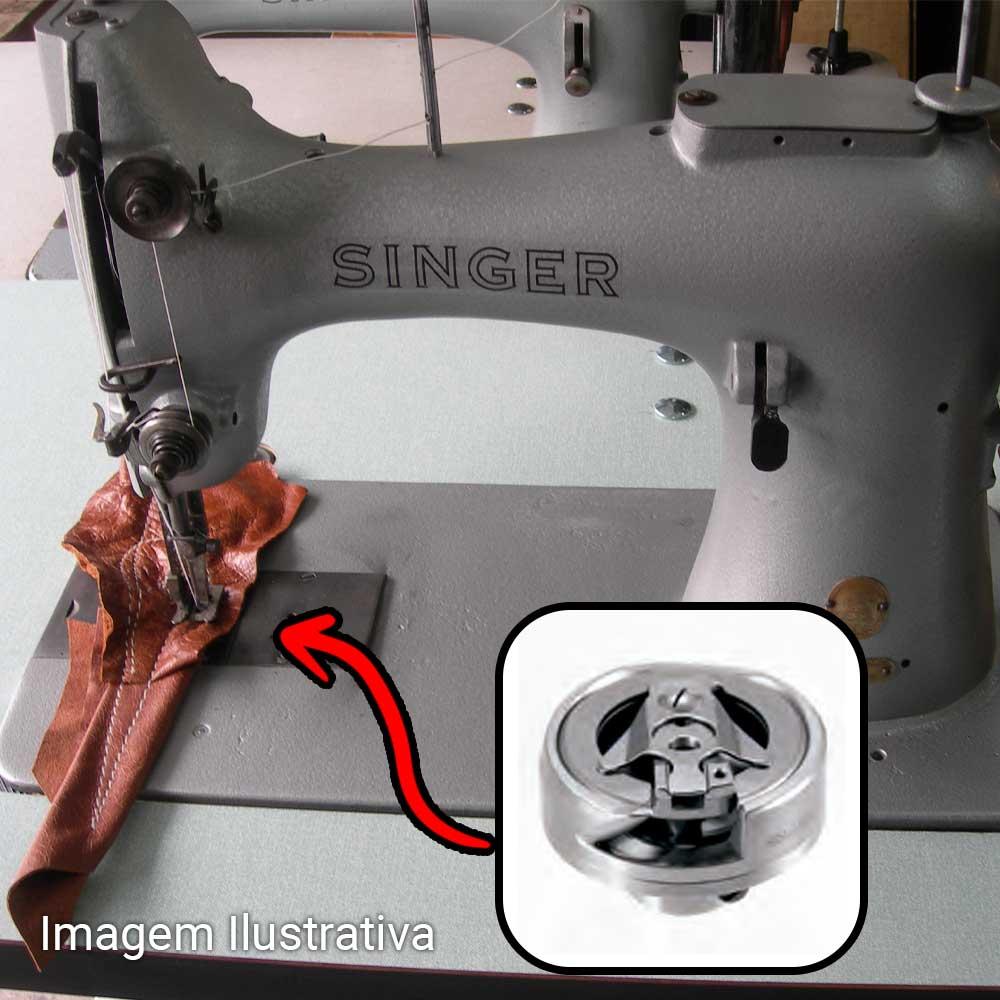Lançadeira KRT 132 Similar Para Máquina De Remendo Selaria Sacaria  Singer, New Long, Otimec  - Pavvia Agulhas e Peças