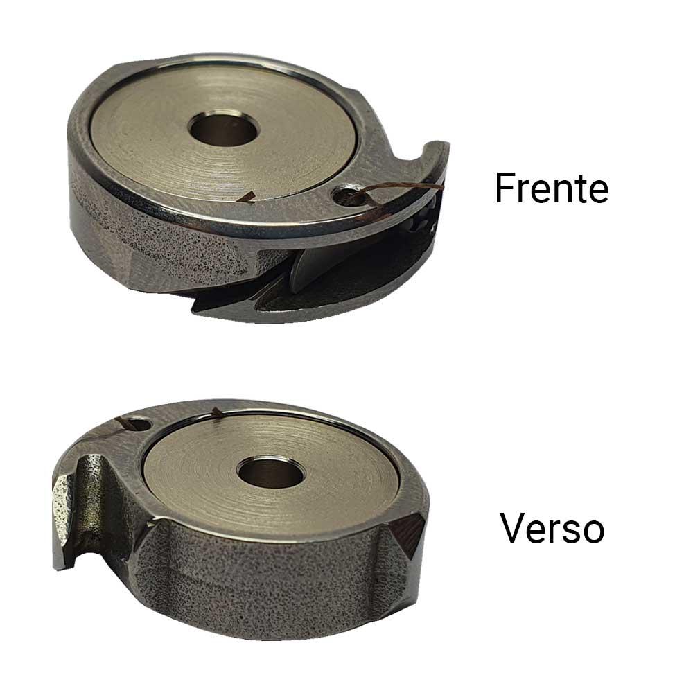 Lançadeira Pequena Para Máquina De Conserto Singer 29 K  - Pavvia Agulhas e Peças