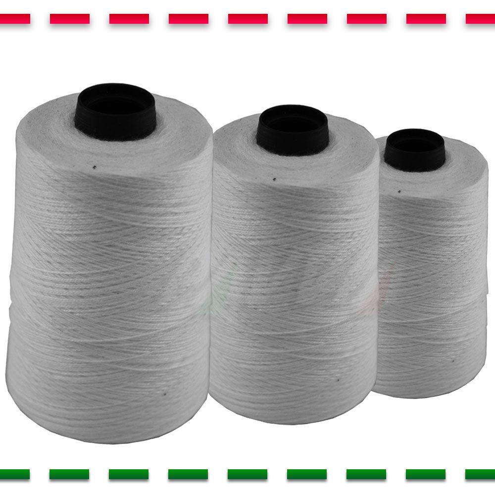 Linha Para Máquina De Costura Sacaria Kit Com 5 Cones De 250g  - Pavvia Agulhas e Peças