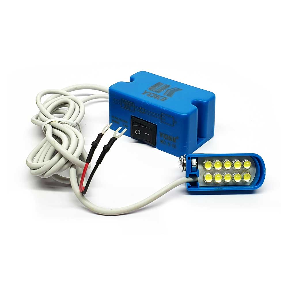 Luminária LED 10 Leds Para Máquina De Costura  - Pavvia Agulhas e Peças