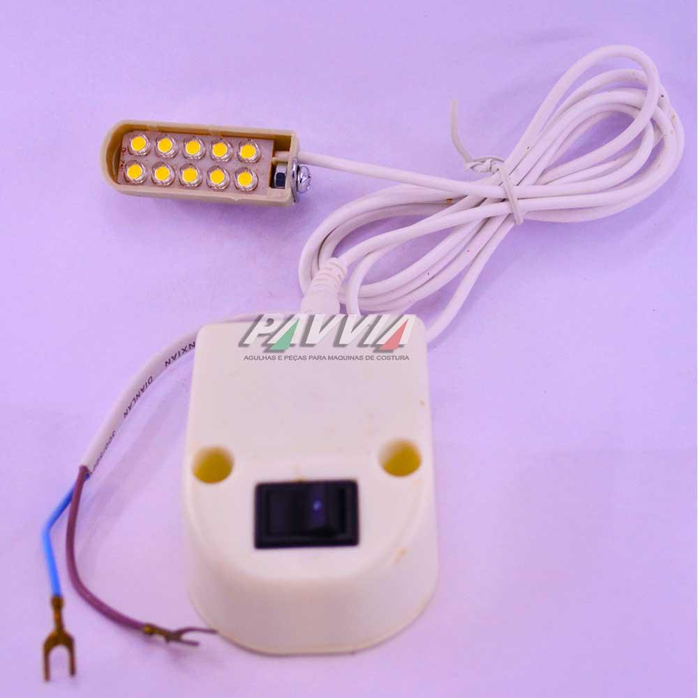 Luminária LED para  Máquina de Costura   - Pavvia Agulhas e Peças