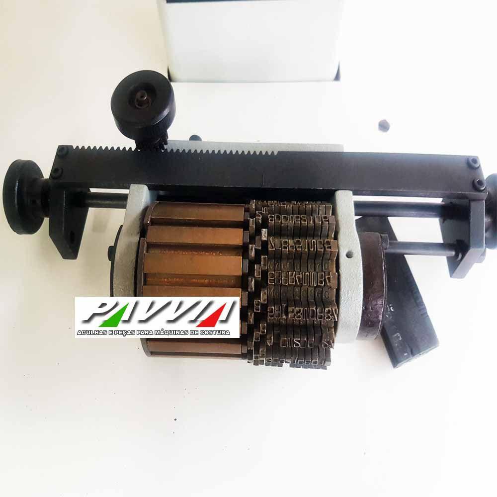 Máquina de Carimbar Pneumática KEHL em Pé  - Pavvia Agulhas e Peças