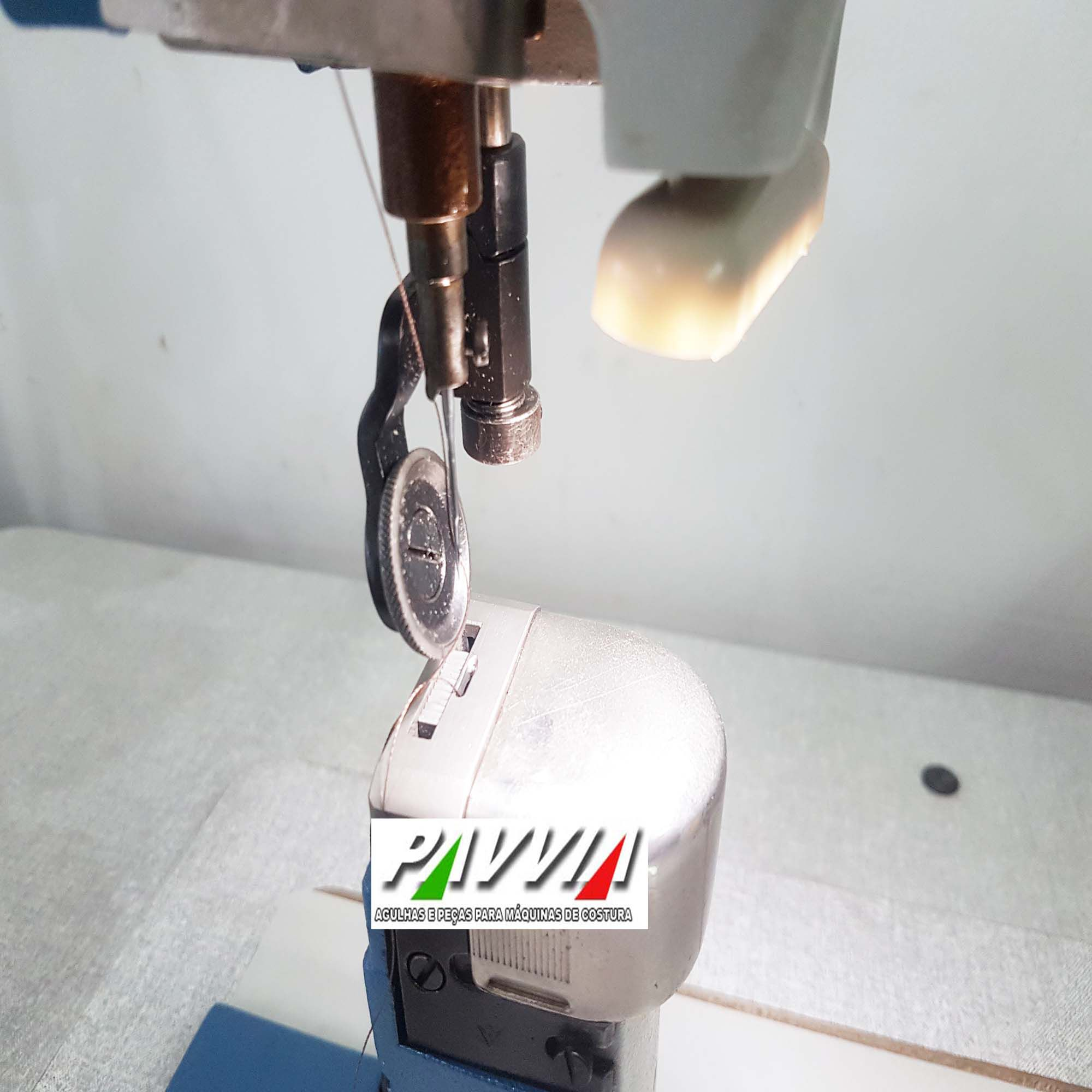 Máquina de coluna Ivomaq CI 3000 - 1I transporte simples 1 agulha   - Pavvia Agulhas e Peças