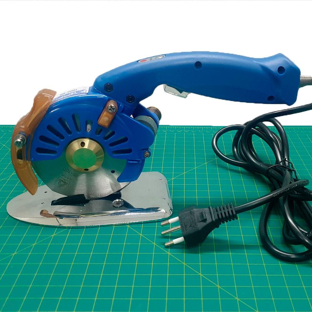 Máquina De Cortar Tecidos 4 Polegadas Motor Direct Drive Bivolt 4 Velocidades  - Pavvia Agulhas e Peças