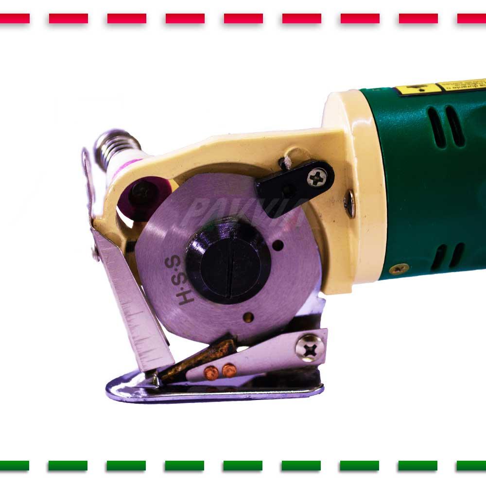 Máquina Cortar Tecidos Bananinha + Disco E Acessórios Extras  - Pavvia Agulhas e Peças