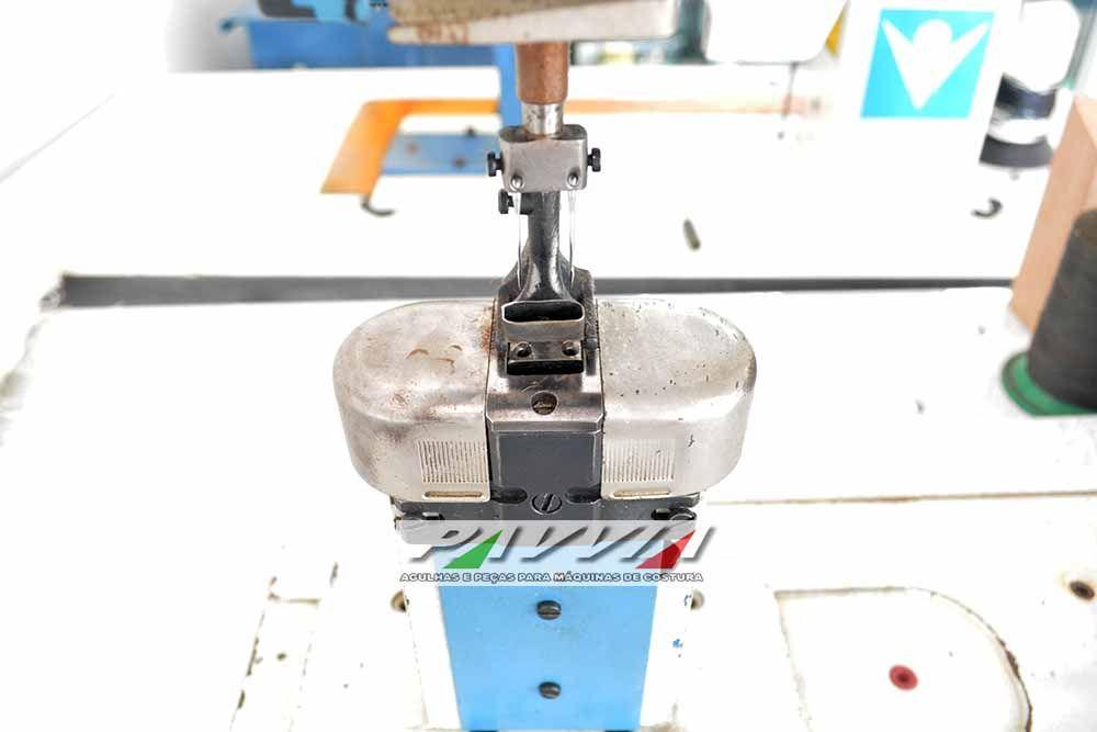 Maquina de costura 2 agulhas CI3000 204 TI transporte triplo