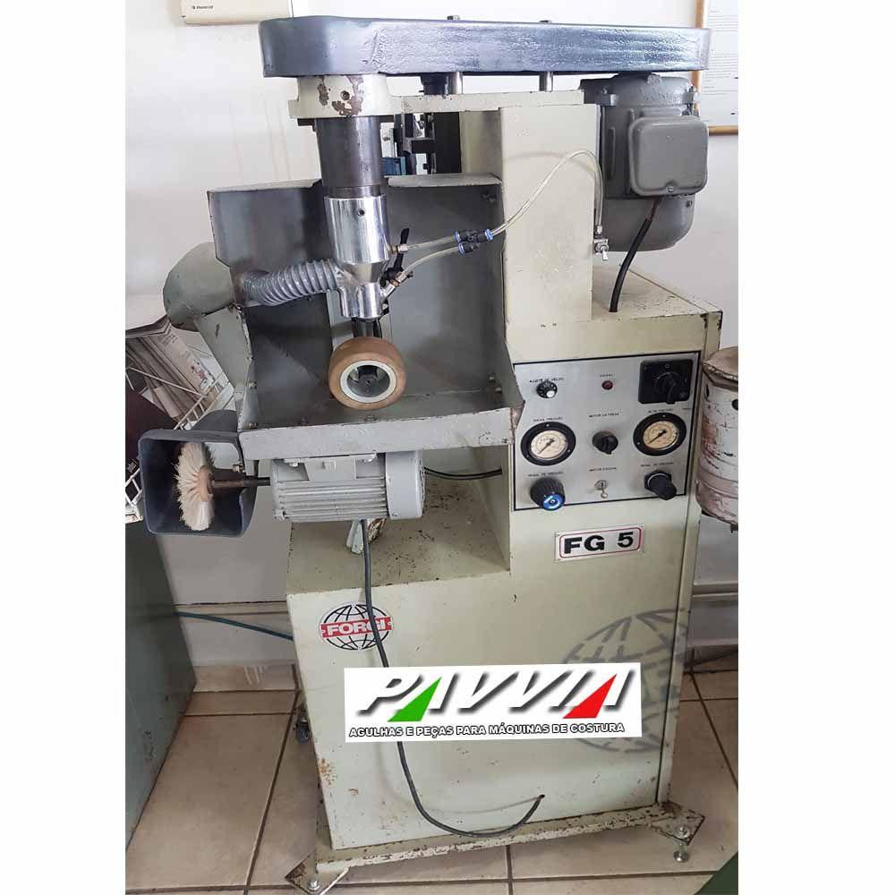 Máquina para lixar sola com ou sem lateral Forgi FG 5  - Pavvia Agulhas e Peças