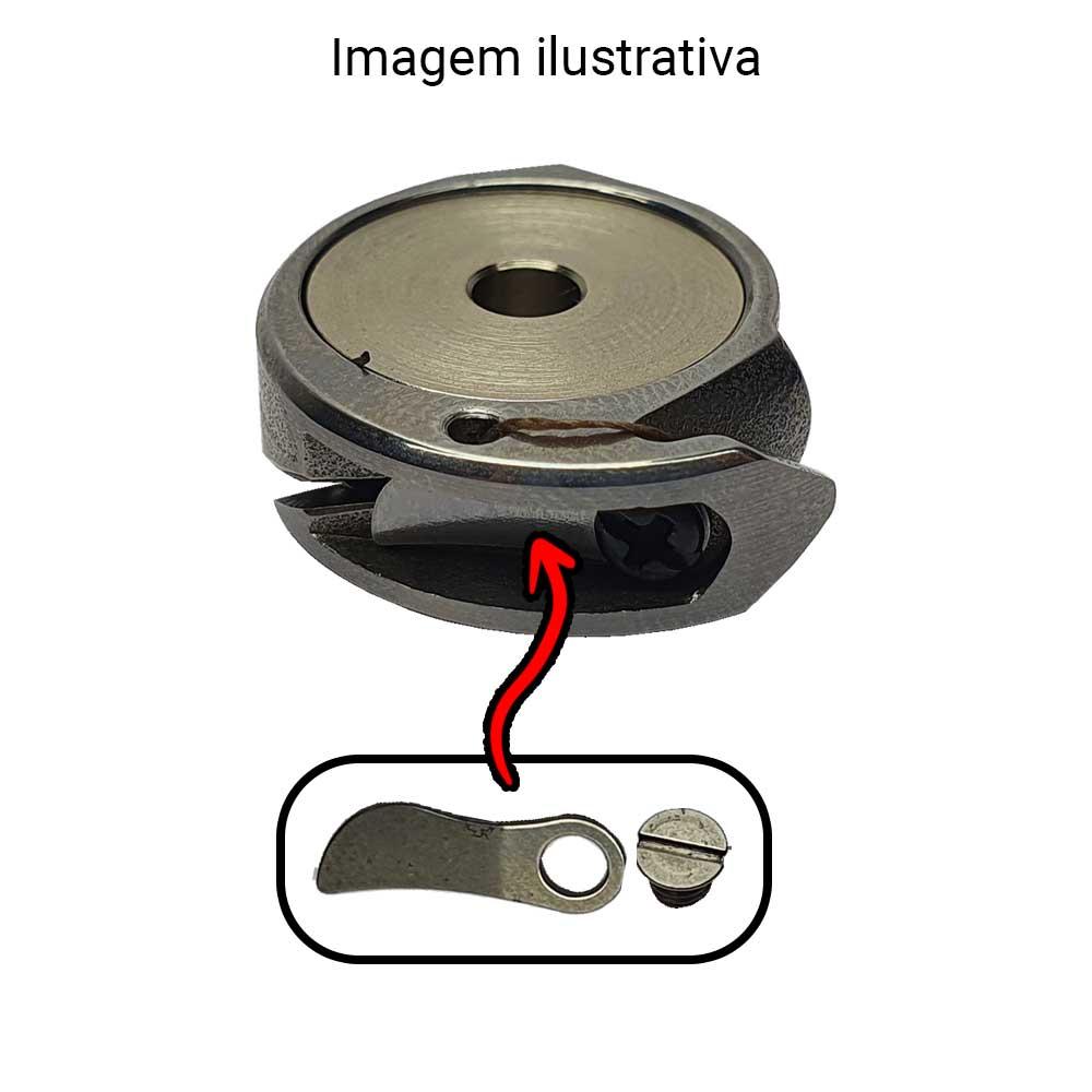 Mola De Tensão Lançadeira Pequena Para Máquina De Remendo Singer 29 K Pequena SI-8611  - Pavvia Agulhas e Peças