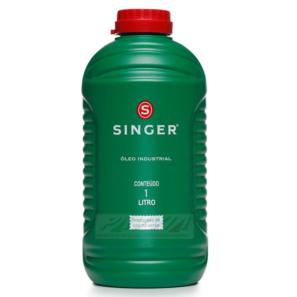 Óleo Singer para máquinas de costuras industrial 1 litro   - Pavvia Agulhas e Peças