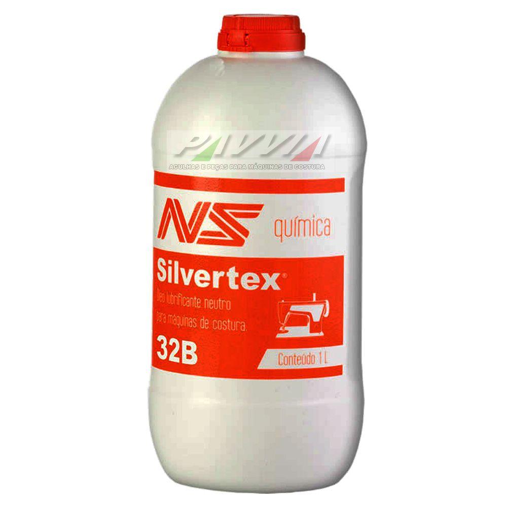 Óleo Silvertx 32B para máquina de costura têxteis 1 Litro  - Pavvia Agulhas e Peças