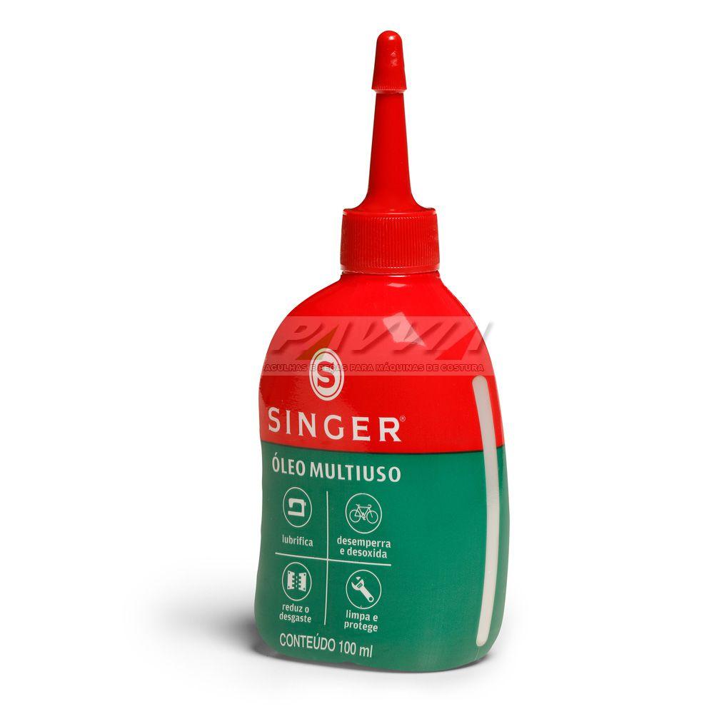 Óleo Singer Lubrificante multiuso 100 ml  - Pavvia Agulhas e Peças