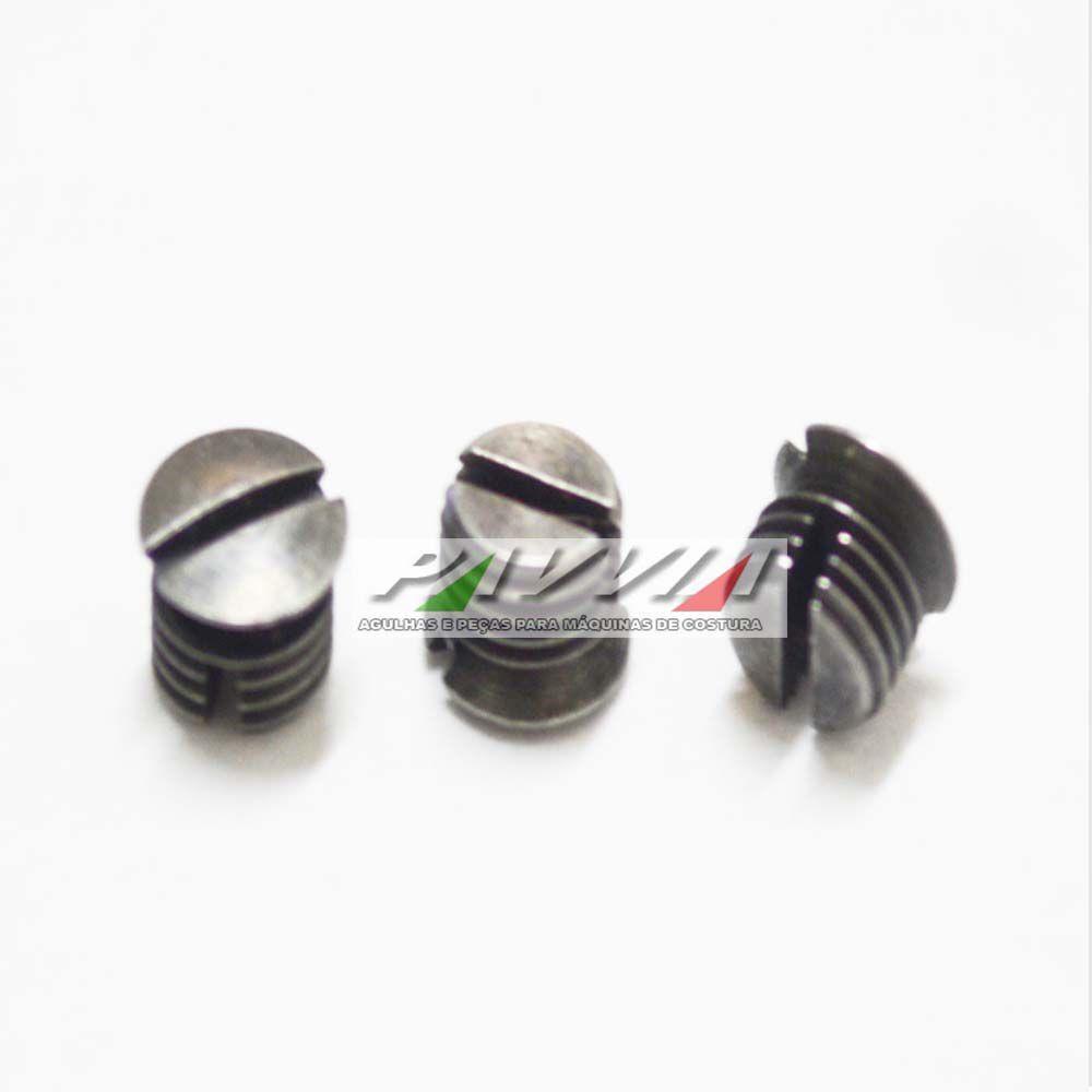 Parafuso regulagem de tensão da mola da caixa de bobina HPF 491  - Pavvia Agulhas e Peças